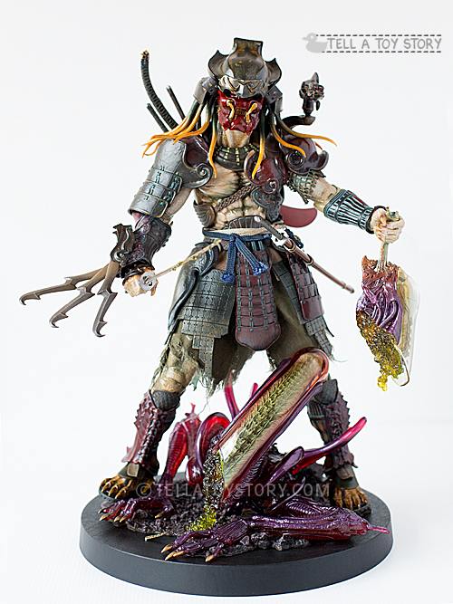 samurai predator front view